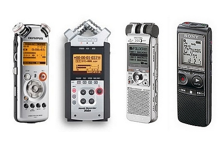 Recording is a matter of digital voice recorder